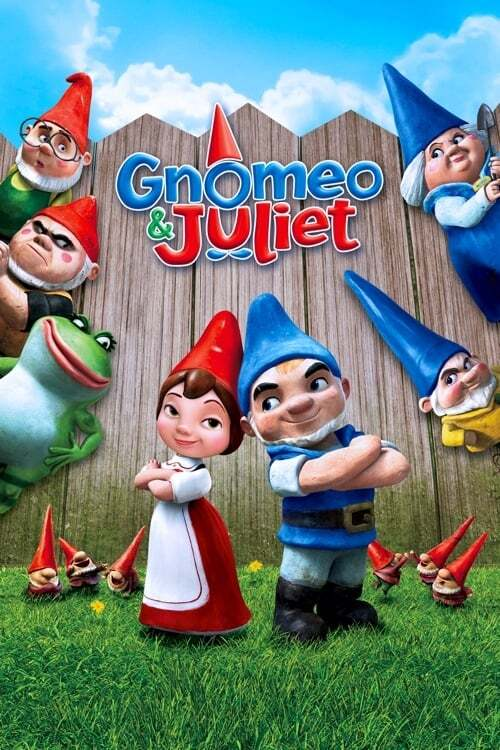 movie cover - Gnomeo And Juliet