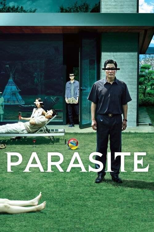 movie cover - Parasite
