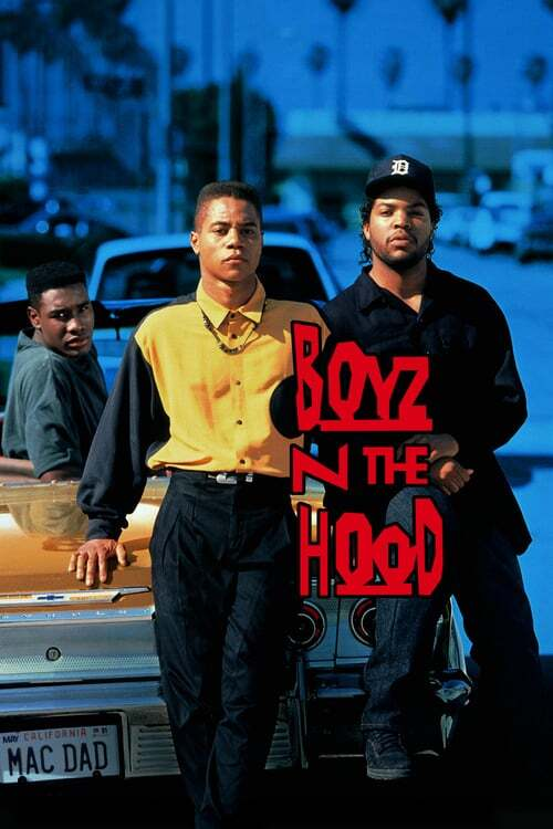 movie cover - Boyz N The Hood