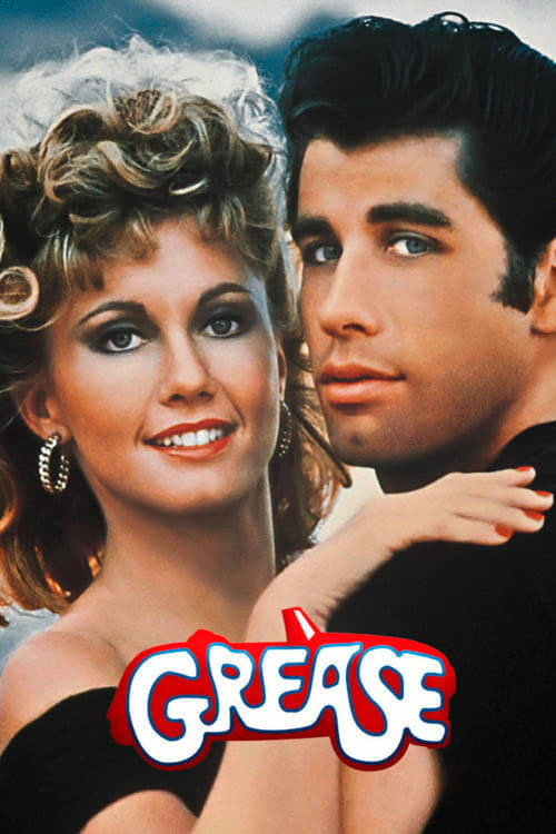 movie cover - Grease