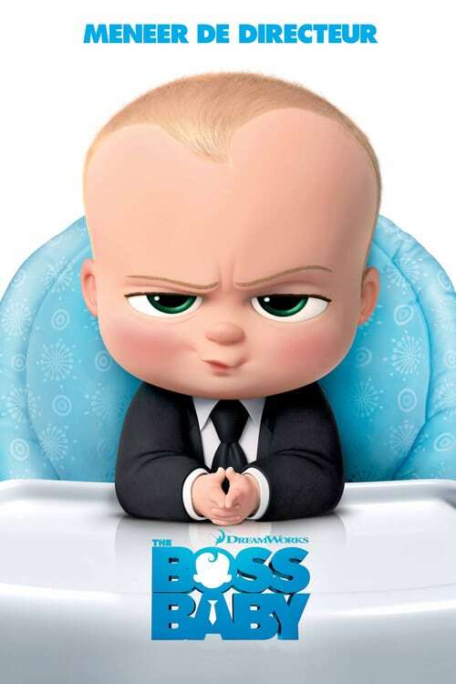movie cover - The Boss Baby