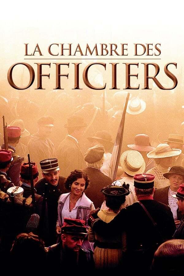 movie cover - La chambre des officiers