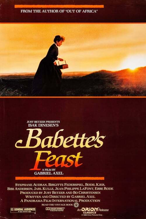 movie cover - Babette