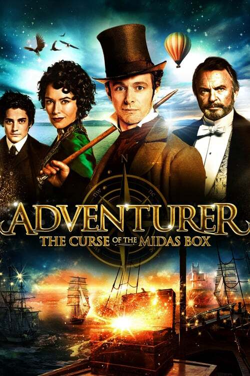 movie cover - The Adventurer: The Curse Of The Midas Box