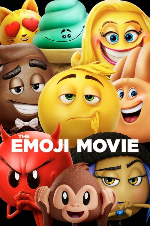 movie cover - The Emoji Movie