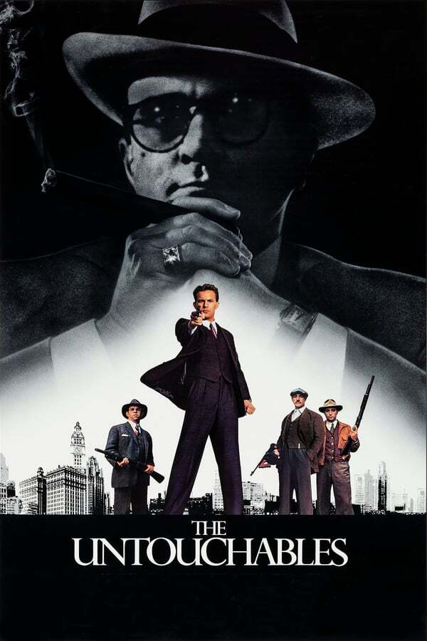movie cover - The Untouchables