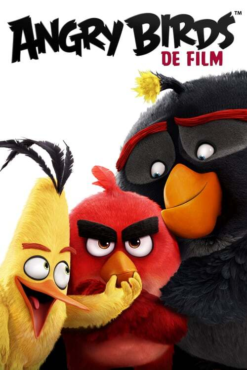 movie cover - The Angry Birds Movie