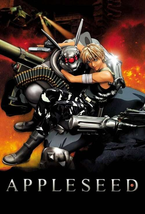 movie cover - Appleseed