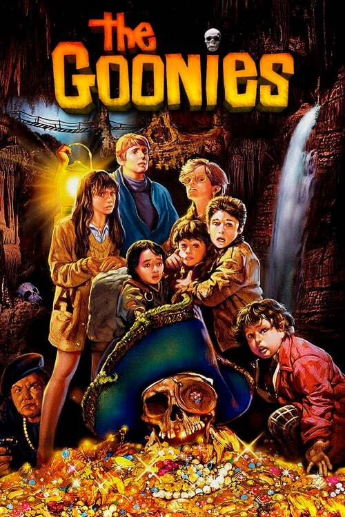 movie cover - The Goonies
