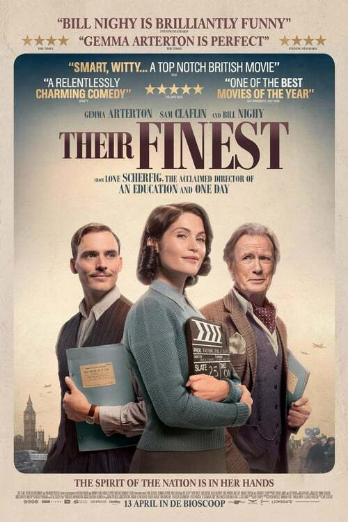 movie cover - Their Finest