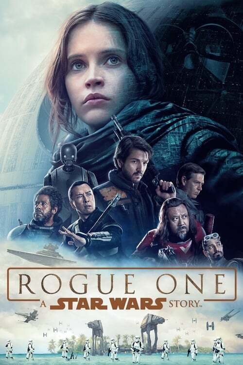 movie cover - Rogue One: A Star Wars Story