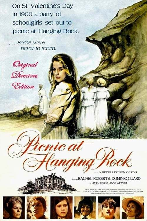 movie cover - Picnic At Hanging Rock