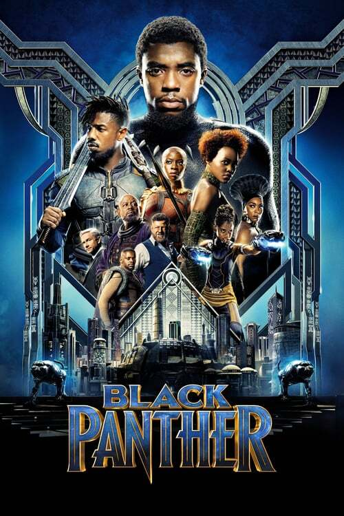 movie cover - Black Panther