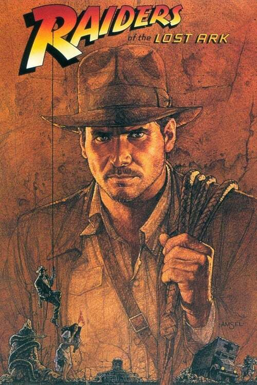movie cover - Indiana Jones and the Raiders of the Lost Ark