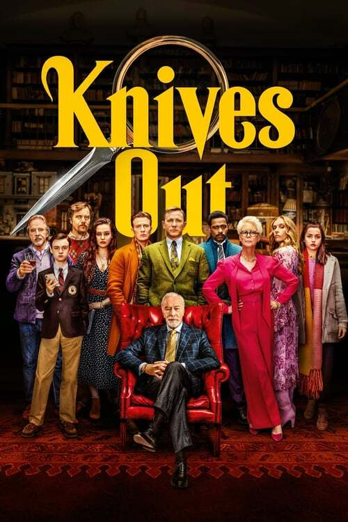 movie cover - Knives Out