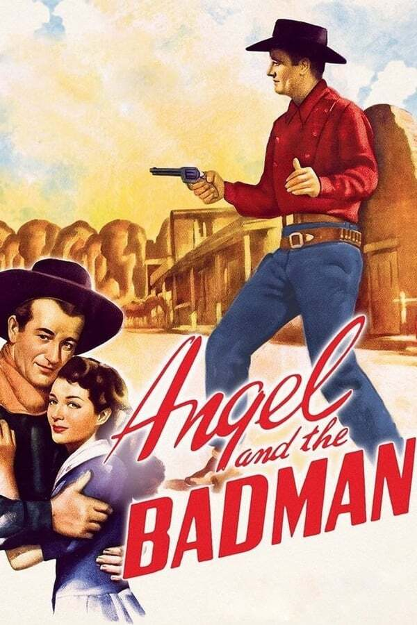 movie cover - Angel and the Badman
