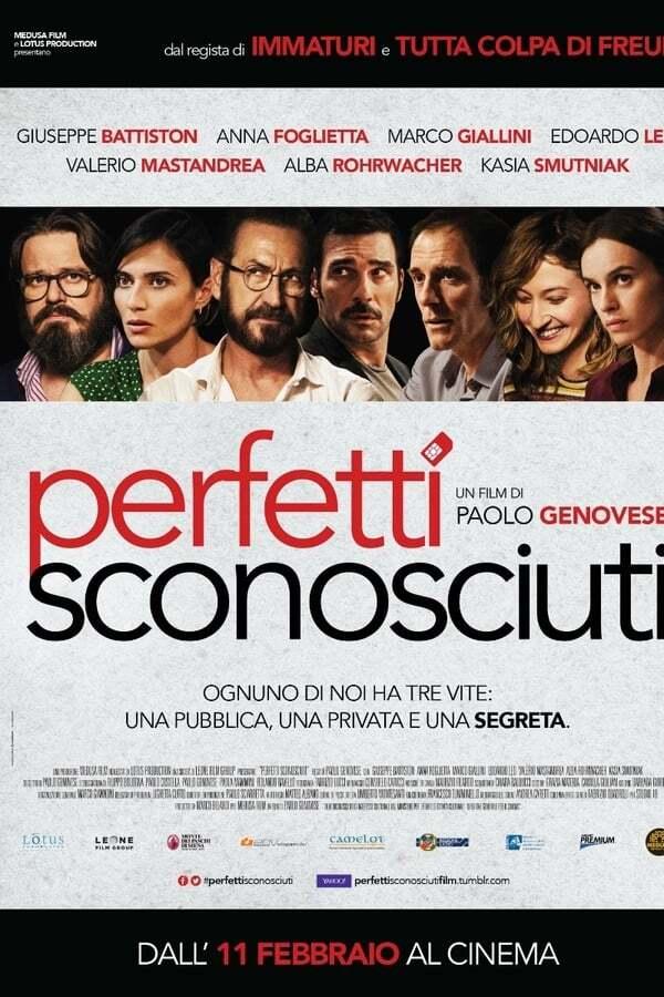 movie cover - Perfetti Sconosciuti