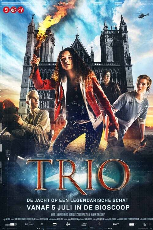 movie cover - Trio - De Jacht Op Een Legendarische Schat