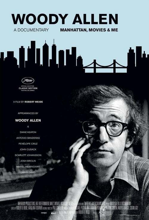 movie cover - Woody Allen: A Documentary