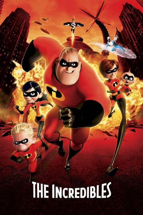 movie cover - The Incredibles