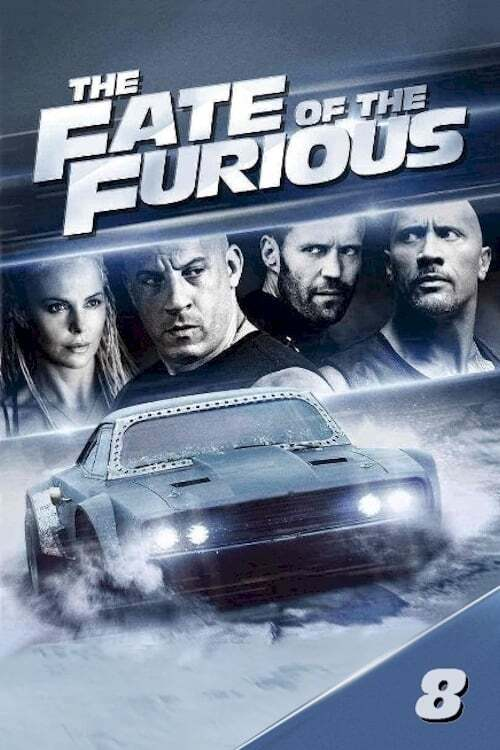 movie cover - Fast & Furious 8