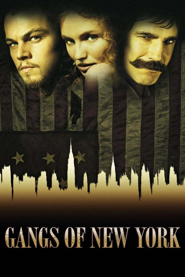 movie cover - Gangs of New York