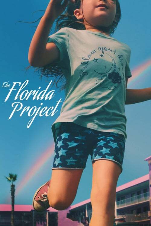 movie cover - The Florida Project
