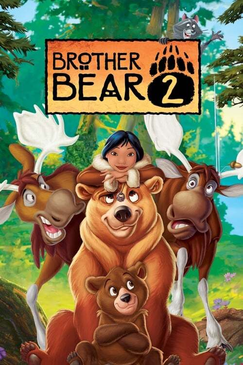 movie cover - Brother Bear 2