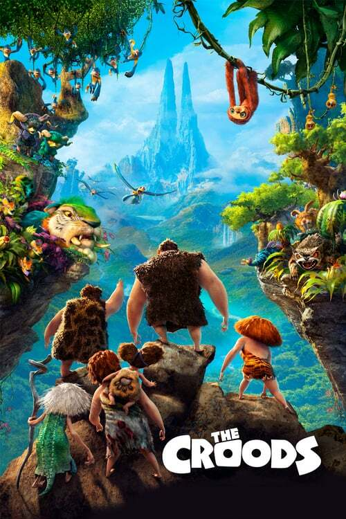 movie cover - The Croods