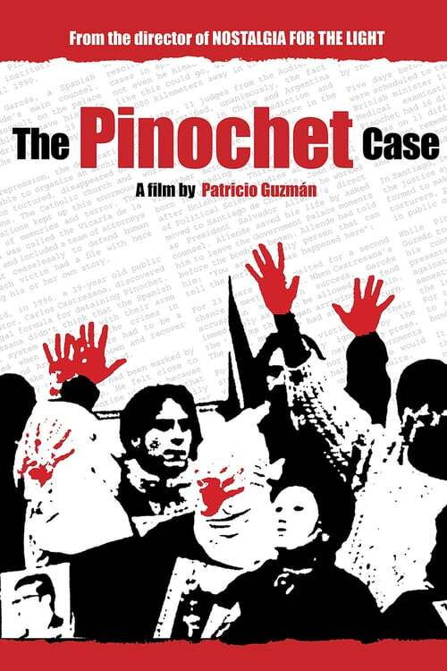 movie cover - De Zaak Pinochet