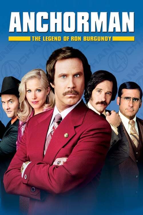 movie cover - Anchorman: The Legend Of Ron Burgundy