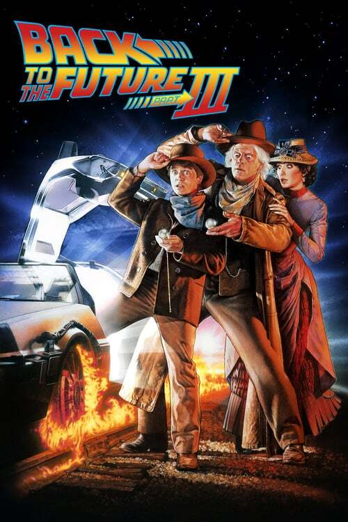movie cover - Back to the Future Part III