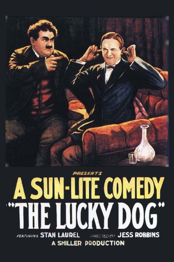 movie cover - The Lucky Dog
