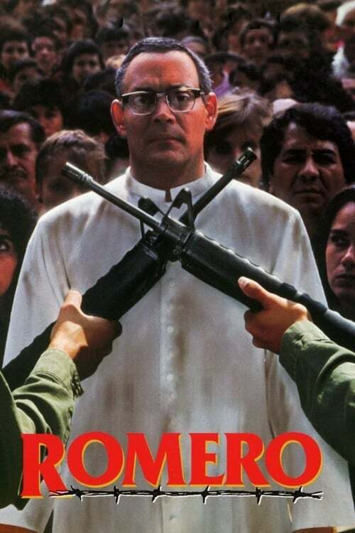 movie cover - Romero
