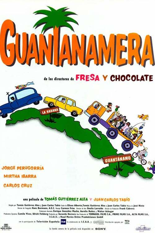 movie cover - Guantanamera