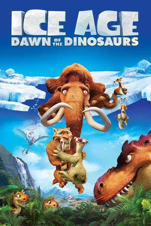 movie cover - Ice Age 3: Dawn Of The Dinosaurs