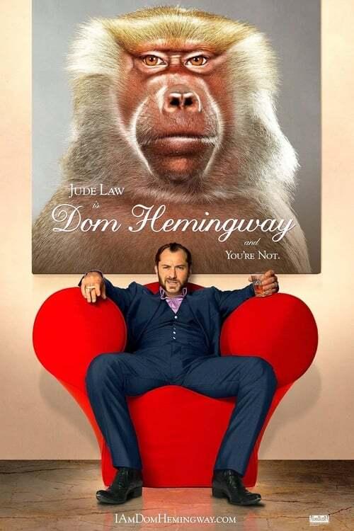 movie cover - Dom Hemingway