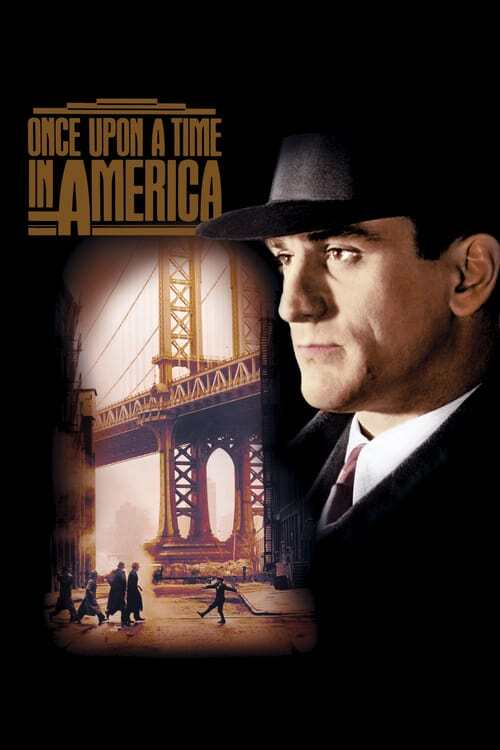 movie cover - Once Upon A Time In America