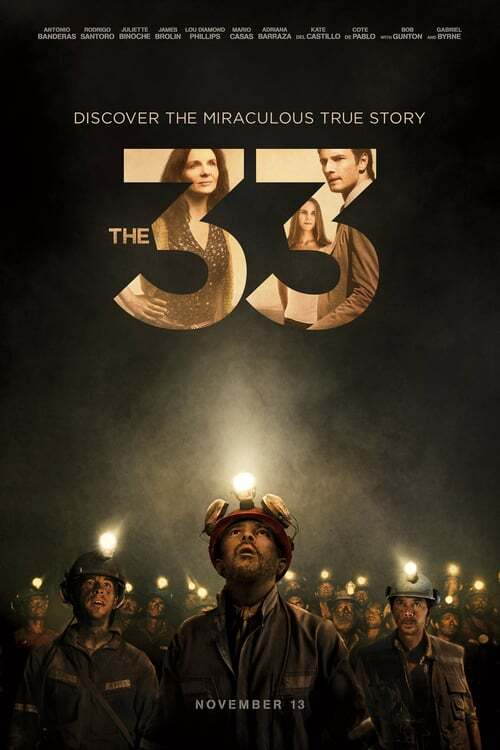 movie cover - The 33