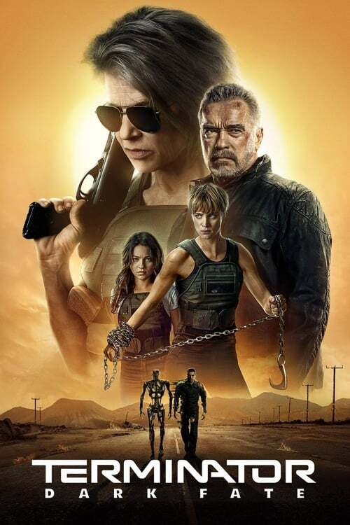 movie cover - Terminator: Dark Fate