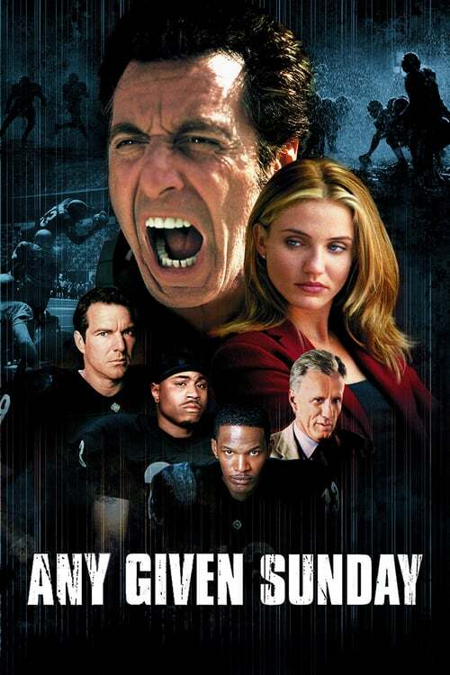 movie cover - Any Given Sunday