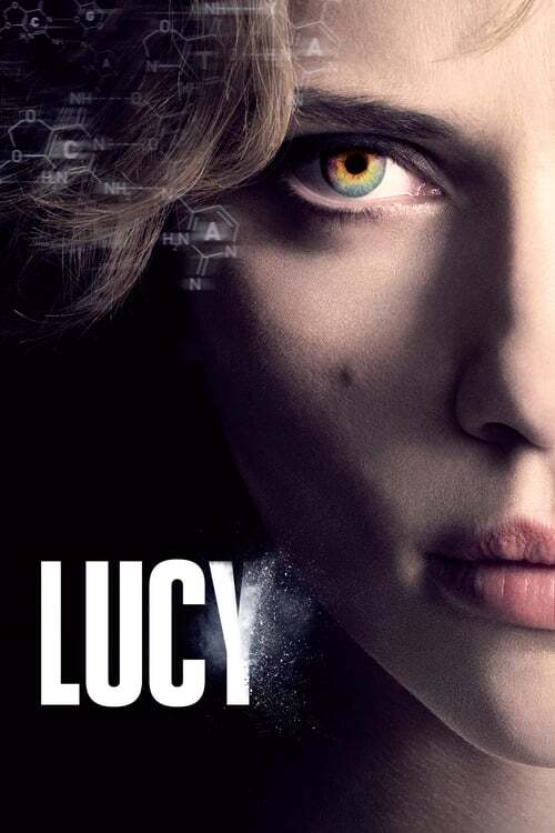 movie cover - Lucy