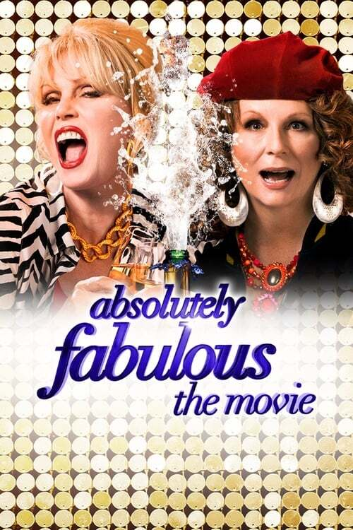 movie cover - Absolutely Fabulous: The Movie