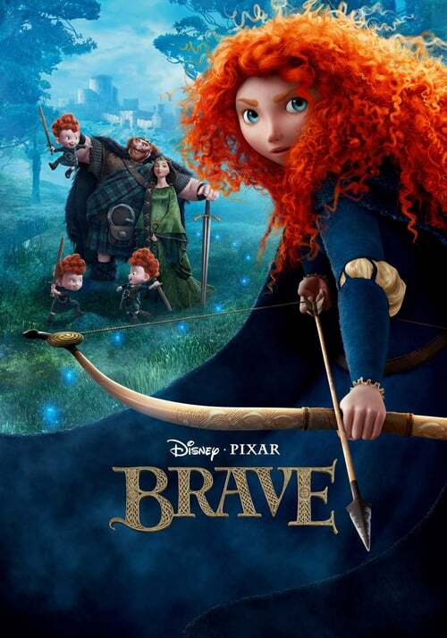 movie cover - Brave
