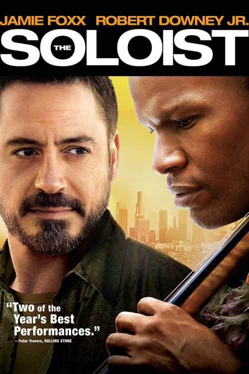 movie cover - The Soloist