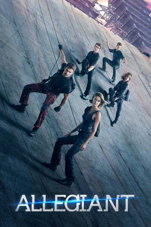 movie cover - Allegiant