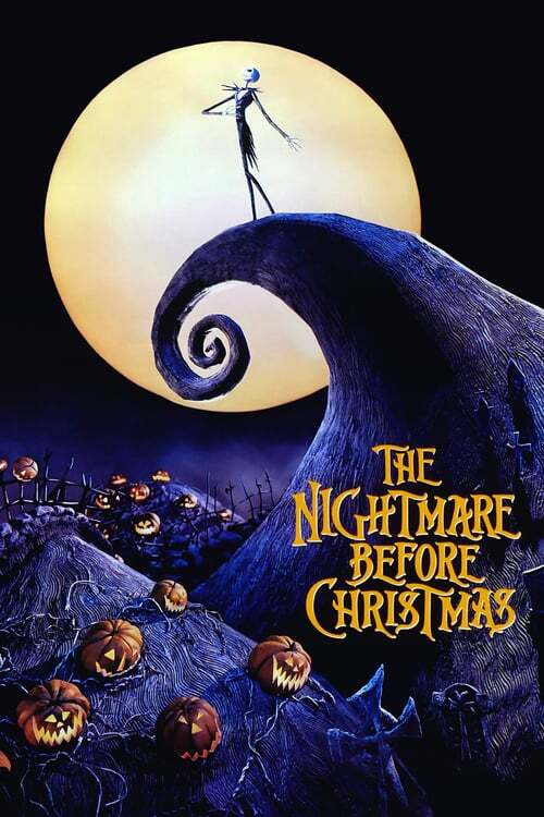 movie cover - The Nightmare Before Christmas