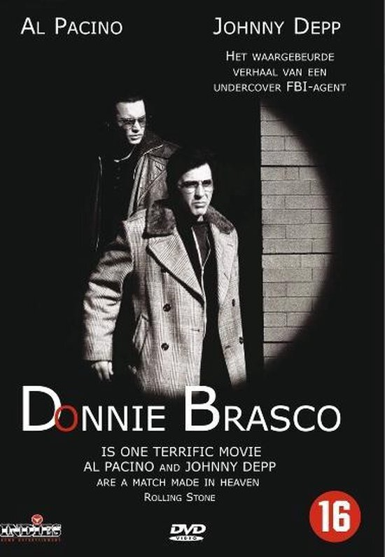 movie cover - Donnie Brasco