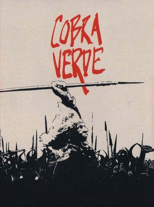 movie cover - Cobra Verde