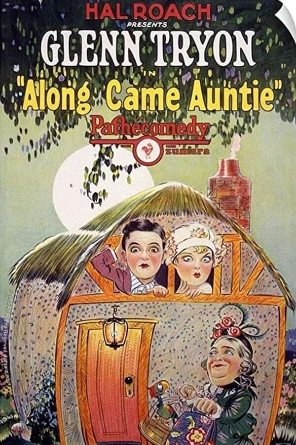 movie cover - Along Came Auntie